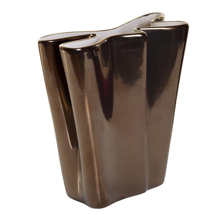 Ваза керамическая (металлик) A28-18