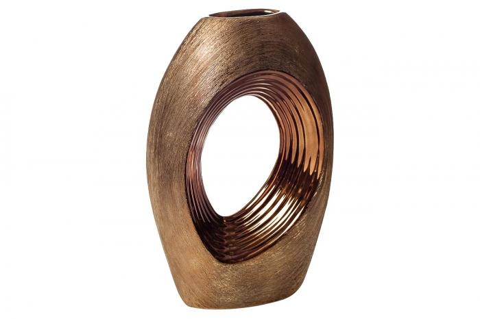Ваза керамическая декоративная (золотая) 18H2535S-5