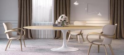 Стол обеденный «Apriori T» круглый d-100