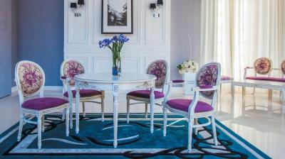 Стол Линда 2 и кресла Луиз 2