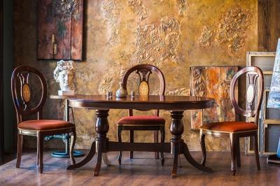 Стол Охта 2 и стулья Луиз 6