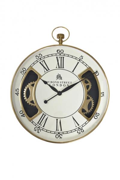 Часы настенные круглые (золото) 79MAL-5316-76G