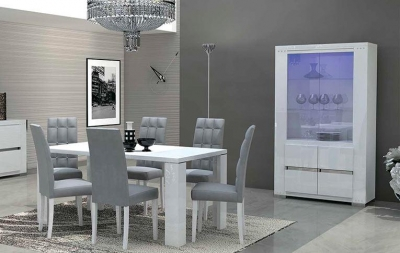 Столовые группы Elegance Diamond White