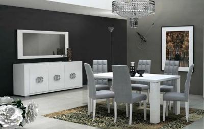 Столовые группы Elegance White Lux