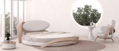 Кровать круглая «Brazo 2»